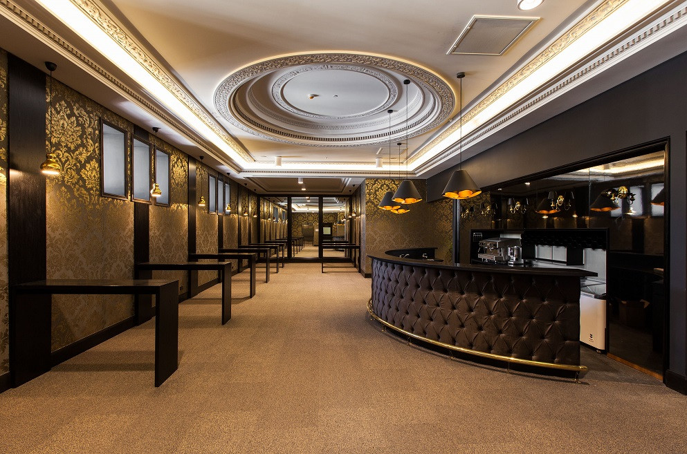 Home Theater Foyer : Isaac theatre royal catering department